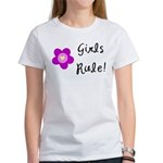 Girls Rule Women's T-Shirt