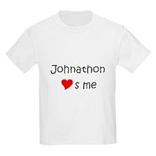 Johnathon name T-Shirt