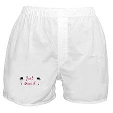 Just Maui'd Boxer Shorts