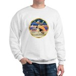 XmasStar/German Shepherd #13 Sweatshirt
