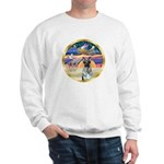 XmasStar/German Shepherd #12 Sweatshirt