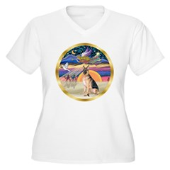 XmasStar/German Shepherd #11 T-Shirt
