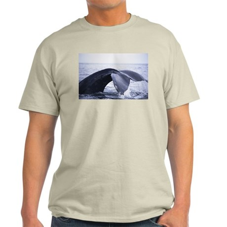 Whales Tail (Front only) Light T-Shirt