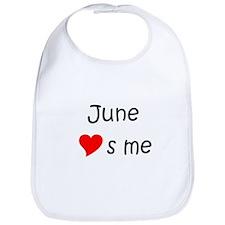 Cute June Bib