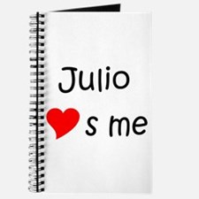 Cute Julio Journal