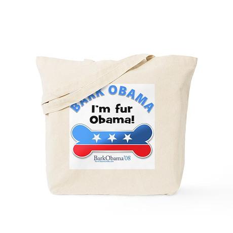 Bark Obama Tote Bag