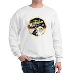 XmasDove/German Shepherd #15 Sweatshirt
