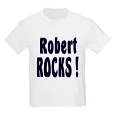 Robert Rocks ! Kids T-Shirt