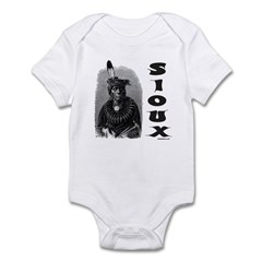 SIOUX INDIAN CHIEF Infant Bodysuit