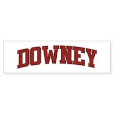DOWNEY Design Bumper Bumper Sticker