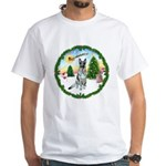Take Off1/German Shepherd #12 White T-Shirt