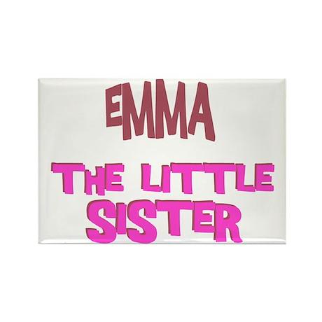 Emma - The Little Sister Rectangle Magnet