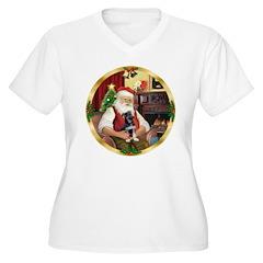 Santa's German Shepherd Pup T-Shirt