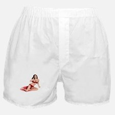 Red Girl Boxer Shorts