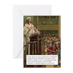 GEDCOM Prophet Greeting Cards (Pk of 10)