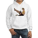Librarian Girl Hooded Sweatshirt