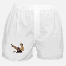 Librarian Girl Boxer Shorts