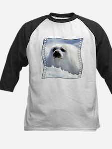 Harp Seal Kids Baseball Jersey