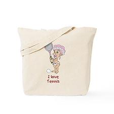 I love Tennis (Girl) Tote Bag
