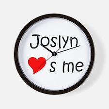 Funny Joslyn Wall Clock