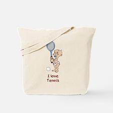 I love Tennis (Boy) Tote Bag