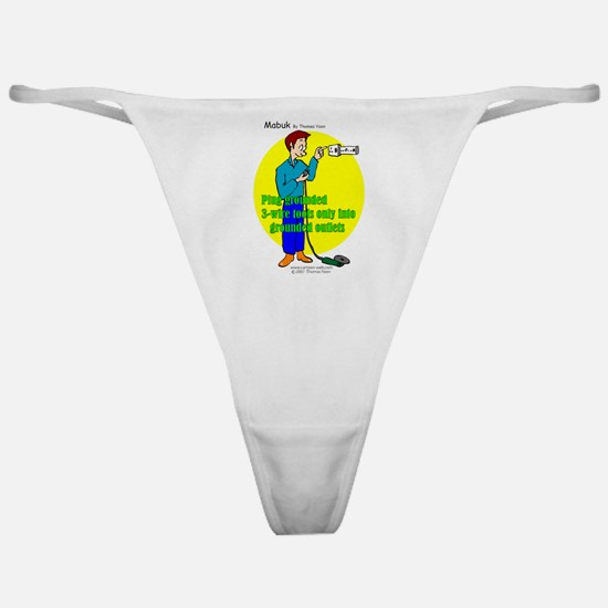 Electrical Safety Classic Thong