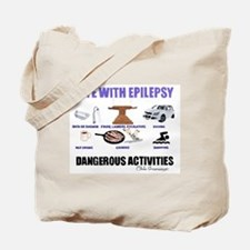 DANGEROUS ACTIVITIES Tote Bag