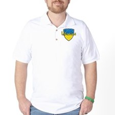 Ukrainian distressed flag T-Shirt