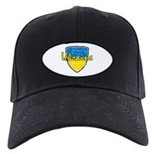Ukrainian distressed flag Baseball Hat