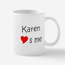 Cute Heart karen Mug