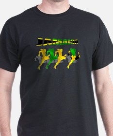 Jamaican Relay 4 by 400m T-Shirt
