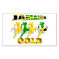 Jamaica Athletics Decal