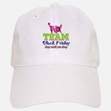 Team Black Friday Baseball Baseball Cap