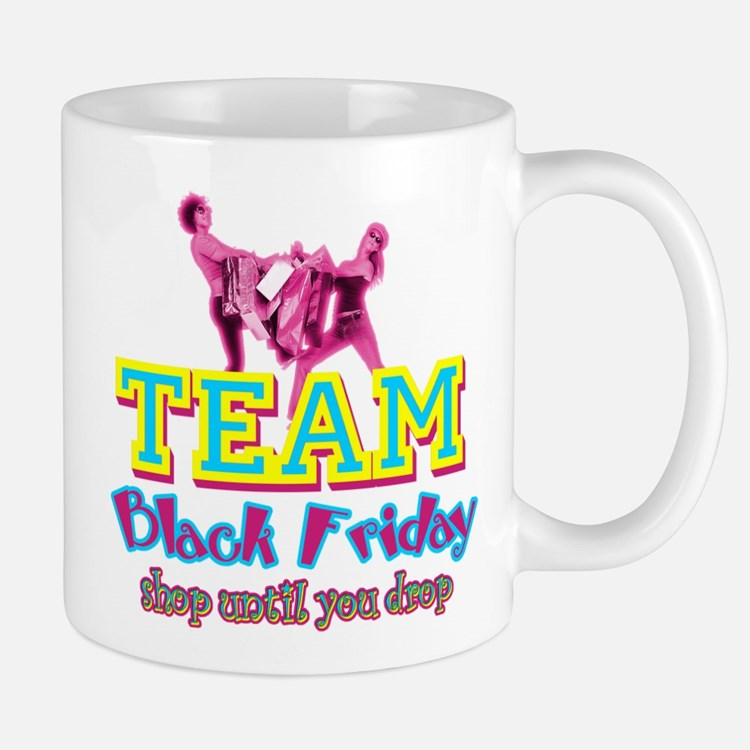 Team Black Friday Mug