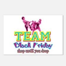 Team Black Friday Postcards (Package of 8)