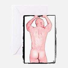 Break Out Gay Design Greeting Card
