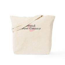 Proud New Granny Tote Bag