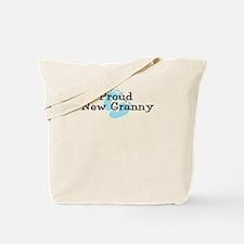 Proud New Granny B Tote Bag