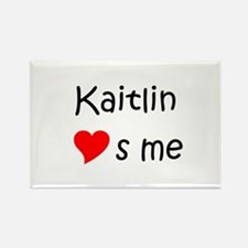 Unique Kaitlin Rectangle Magnet