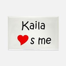 Cool Kaila Rectangle Magnet