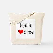 Funny Kaila Tote Bag