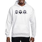 See No Evil Alien Hooded Sweatshirt