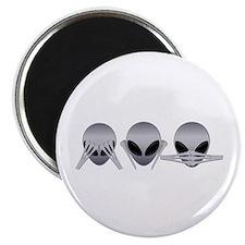 See No Evil Alien Magnet