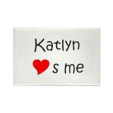 Katlyn Rectangle Magnet
