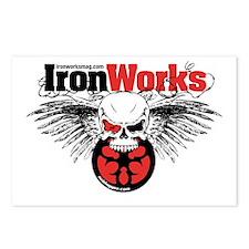 IronWorks Skull Flyer Postcards (Package of 8)
