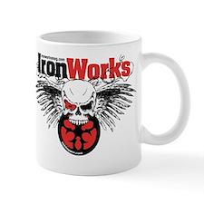 IronWorks Skull Flyer Mug