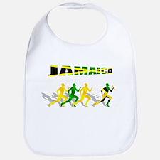 Jamaican Relay Team Bib
