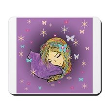Fantasy winter dreaming Mousepad