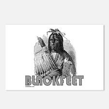 BLACKFEET INDIAN CHIEF Postcards (Package of 8)