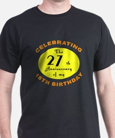 Celebrating 45th Birthday T-Shirt